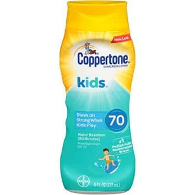 Coppertone Kids Sunscreen Lotion SPF 70+