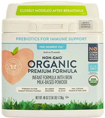 Honest Company Organic Non-GMO Premium Formula
