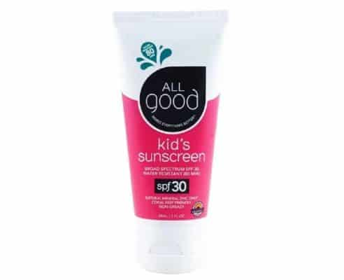 All good SPF 30 Kids Sunscreen Lotion