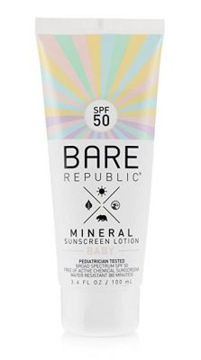 Bare Republic Mineral SPF 50 Baby Sunscreen Lotion