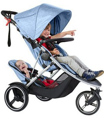 Phil & Teds Dash Inline Double Stroller