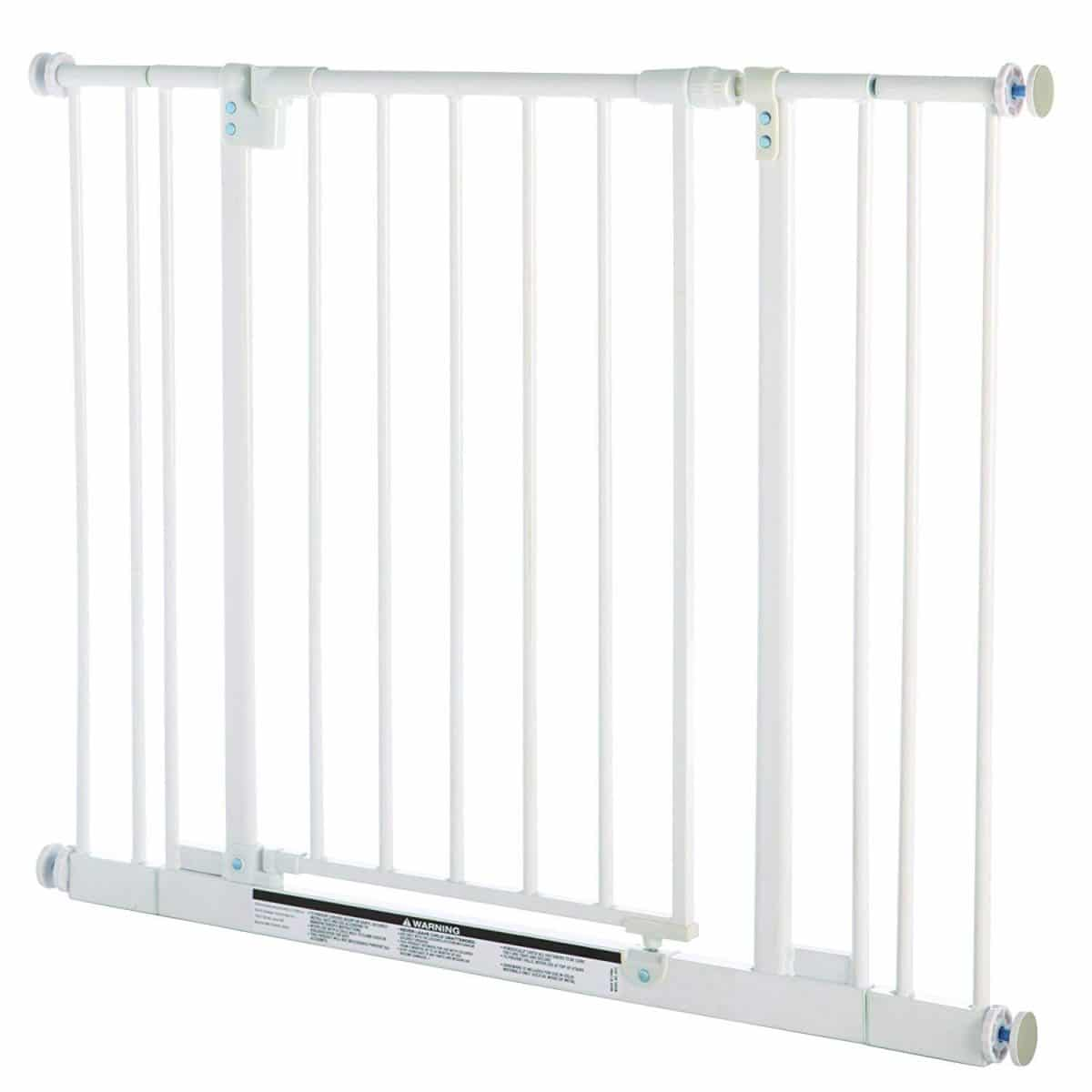 Add extension for a North States 3-Bar Extension for White Easy-Close Baby Gate