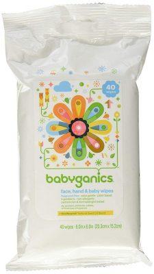 Babyganics Extra Gentle Baby Wipes