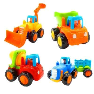 Friction Powered Toddlers Bulldozer