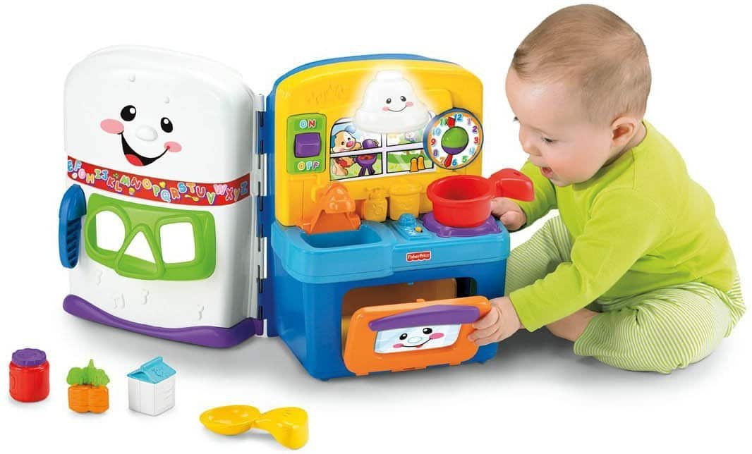 Fisher Price Laugh Learn Learning Kitchen Activity Center