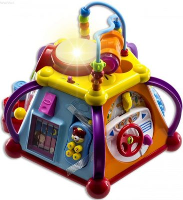 WolVolk Musical Activity Cube