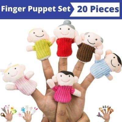 BETTERLINE Finger Puppet Set