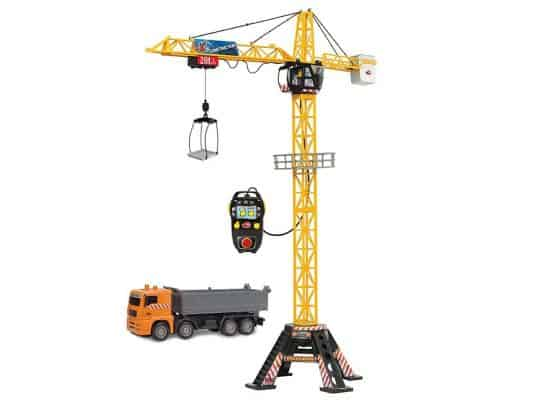 """Dickie Toys 48"""" Mega Crane and Truck Vehicle"""