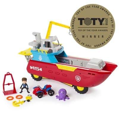 Nickelodeon Sea Patroller Transforming Vehicle