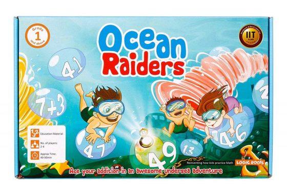LogicRoots Ocean Raiders Math Game