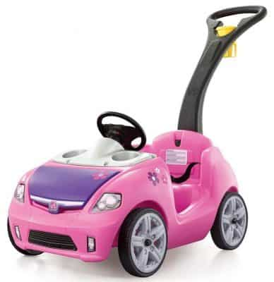 Step2 Whisper Ride II Ride-On Push Car, Pink