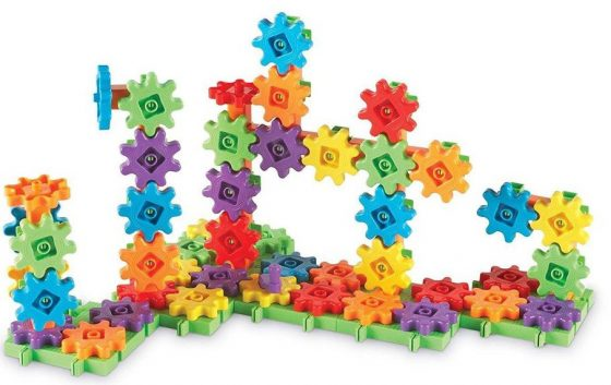 Learning Resources Gears Deluxe Building Set, 100 Pieces