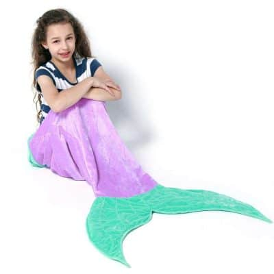Echolife Mermaid Tail Blanket