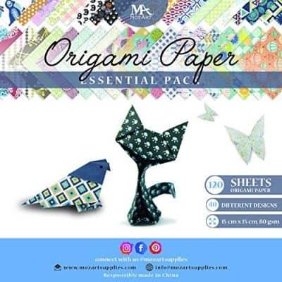 MozArt Supplies Origami Paper Set