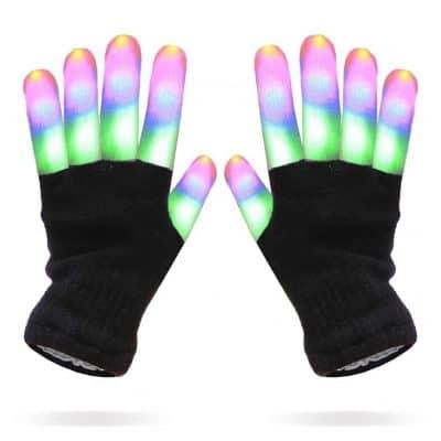 Luwint Kids LED Finger Light Gloves