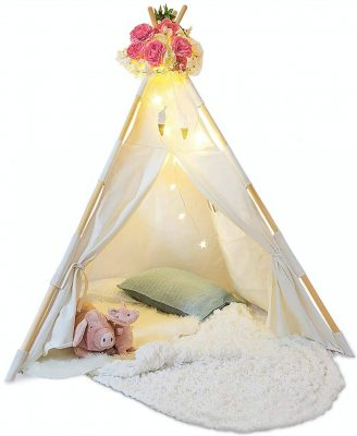 Tazz Toys Teepee Tent for Kids