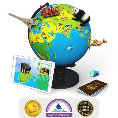 Shifu Orboot (App Based): The Educational, Augmented Reality Based Globe