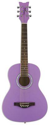 Daisy Rock Debutante Junior Miss Short Scale Acoustic Guitar Pack