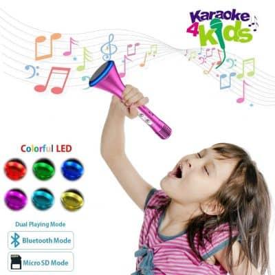 Komvox Karaoke Microphone for Kids