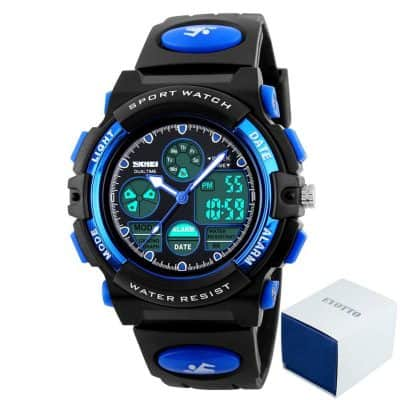 eYotto Kids Boys Multi-functional Analog Digital Wristwatch