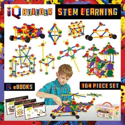IQ BUILDER STEM Learning Construction Engineering-Building Toy