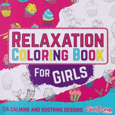 GirlZone: Relaxation Zen Coloring Book for Girls