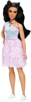 Barbie Fashionistas #65 Powder Pink Lace Doll, Curvy