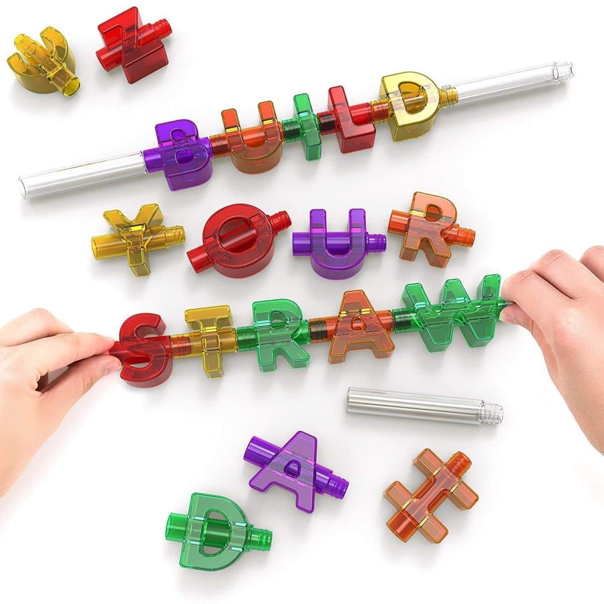 Spelly Straws Reusable Drinking For Kids