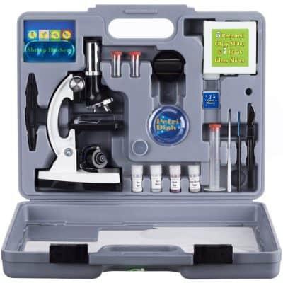 Amscope-Kids M30-ABS-KT2-W Microscope Kit
