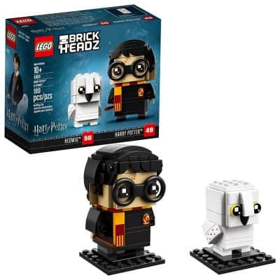 LEGO BrickHead Harry Potter and Hedwig Building Kit