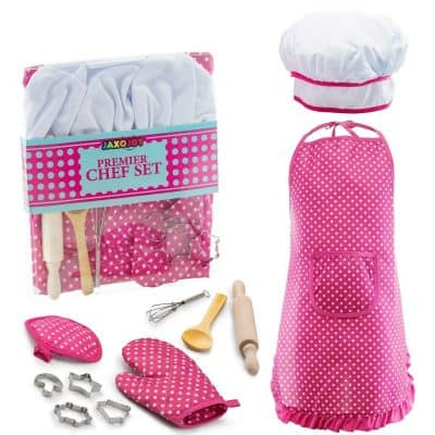 JaxoJoy Complete Kids Cooking & Baking Set