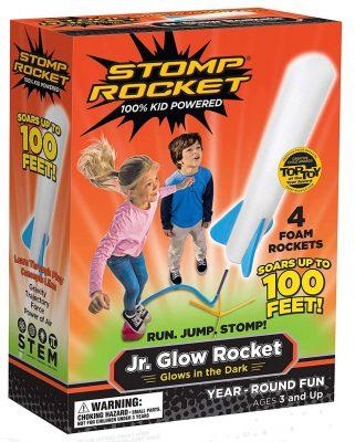 Stomp Rocket Jr. Glow 4 Rockets
