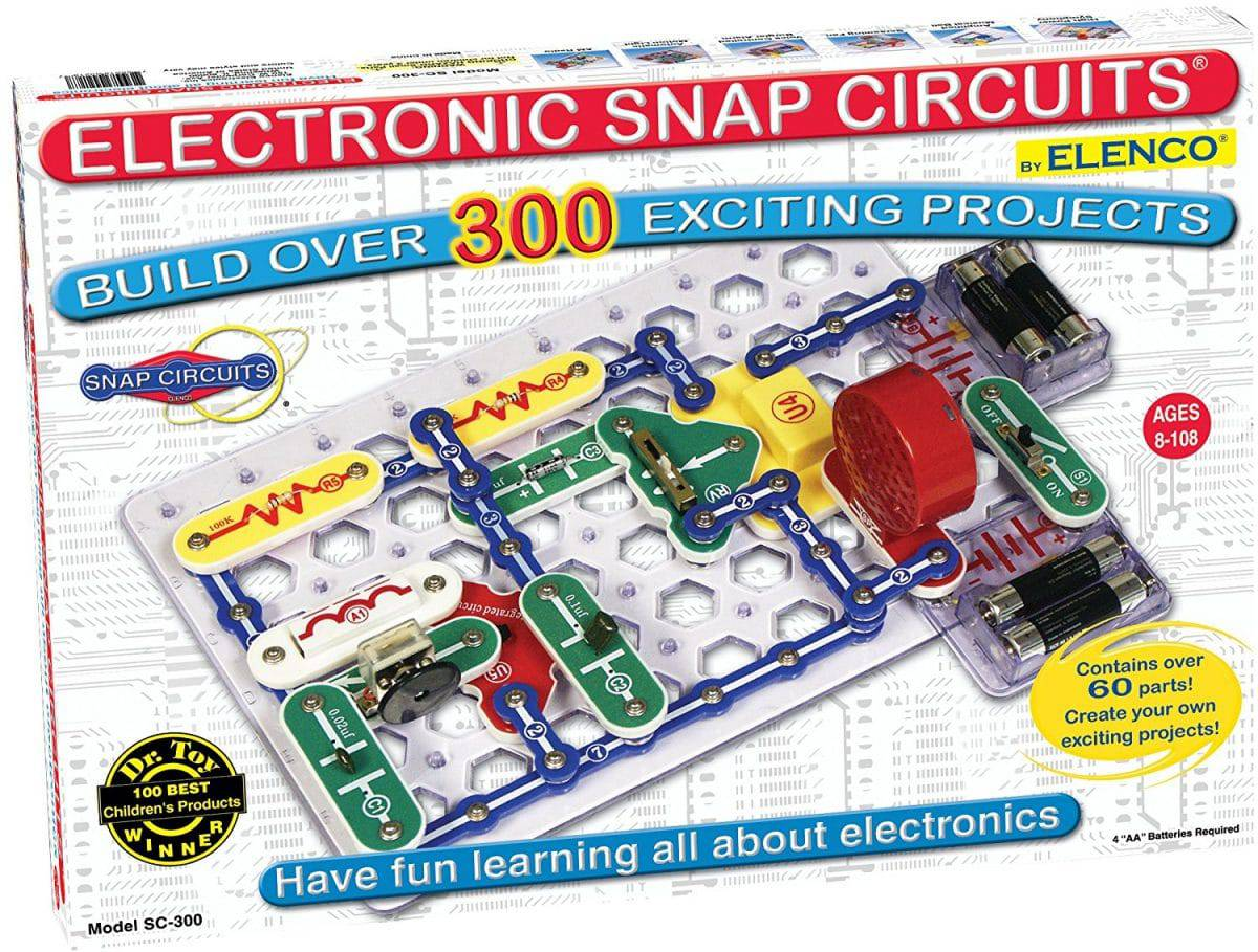 Best Toys And Gift Ideas For 11 Year Old Boys To Buy 2019 Littleonemag Circuit Classics Printed Board Kits Based On Classic Projects Snap Circuits Sc 300 Electronics Exploration Kit