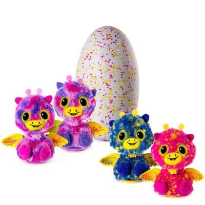 Hatchimals Surprise - Giraven - Hatching Egg with Surprise Twin Interactive Creatures