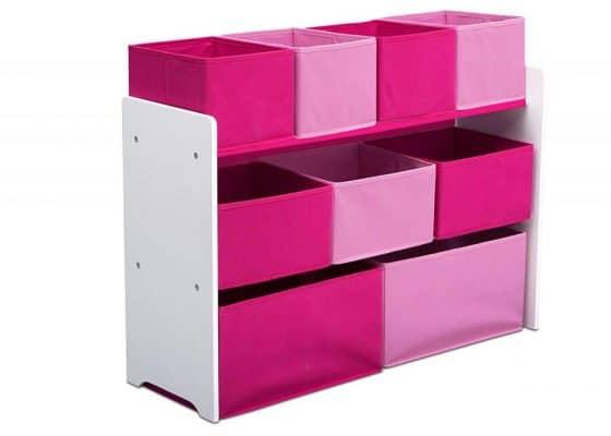 Delta Children Deluxe Multi-Bin Toy Organizer w/ Storage Bins