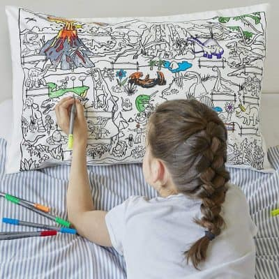 Color Your Own Pillow Case