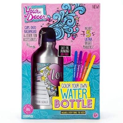 Water Bottle Coloring Craft Kit
