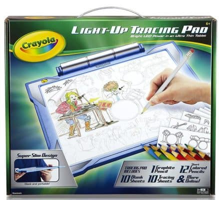 Crayola Light-up Tracing Pad, Coloring Board for Kids