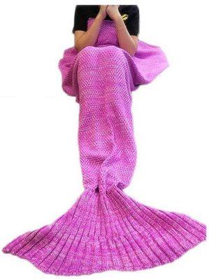 FYHAP Mermaid Blanket, All Seasons Mermaid Tail Blanket