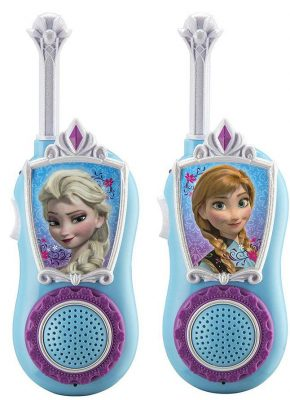 eKids Disney Frozen Chill 'n' Chat Anna & Elsa Character FRS Walkie Talkies
