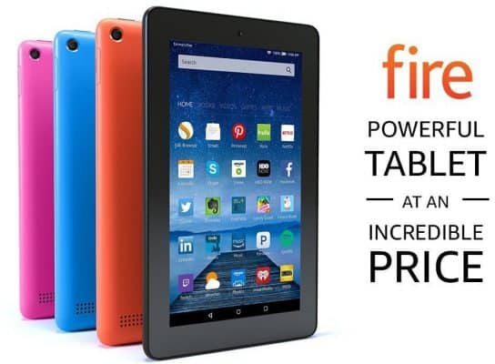 """Fire Tablet with Alexa, 7"""" Display"""