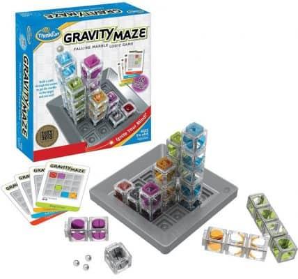 ThinkFun Gravity Maze Run Logic Game