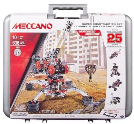 Meccano Erector Super Construction-Building Set