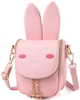 Pinky Family Super Cute Girls Purse
