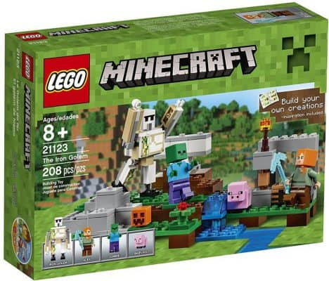 LEGO Minecraft: The Iron Golem