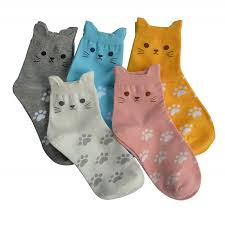 5 Pairs Women's Cute Animals Socks