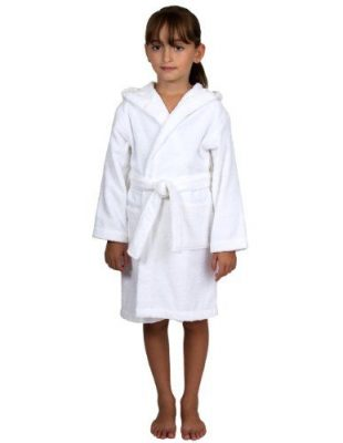 TowelSelections Kids Hooded Bathrobe