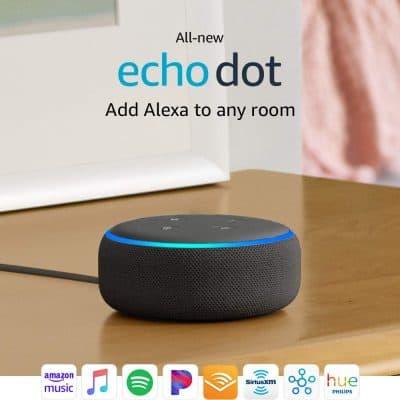 All-new Echo Dot (3rd Gen) with Alexa