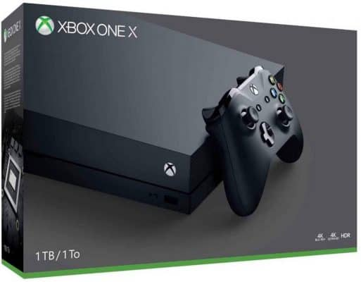 The Xbox One X Console