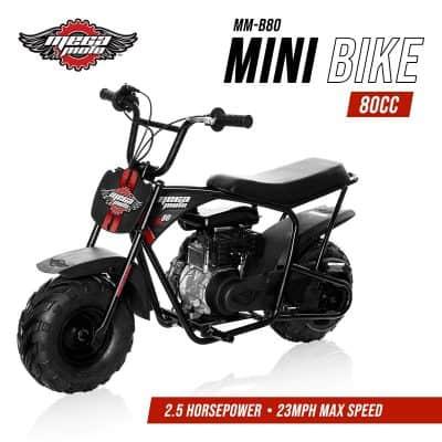 Monster Moto MMB80B Without Suspension 80CC 2.5HP Mini Bike